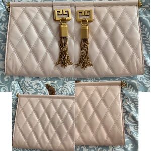 Givenchy Bags - NWT Givenchy Medium Quilted Convertible Clutch Bag